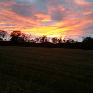 sunset, Dunkeld, Perthshire