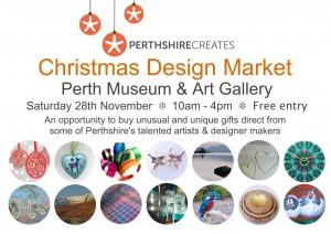 Christmas Design Market, at Perth Museum and Gallery