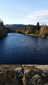 The bridge over the River Tay between Birnam and Dunkeld