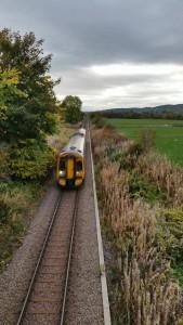 Train Sctrail, Bridge of Earn