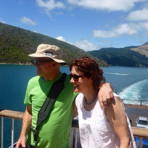 Interislander ferry to Picton, New Zealand