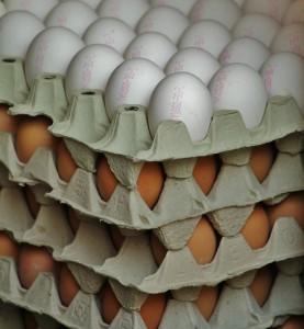 Free range eggs, one of the many quality products at Perth Farmers Market, direct from the producer