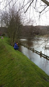Flood warnings in Tayside with the River Earn bursting its banks