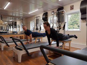 Apparatus class at Balans Pilates Studio