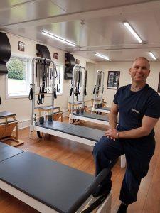 Joakim Valsinger, Pilates Instructor at Balans Pilates Studio.