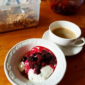 berries for breakfast