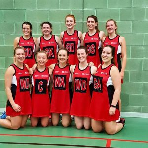 Dundee University Netball Team