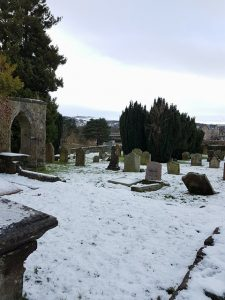 Kinnoull Burial Ground, with stunning views over Perth