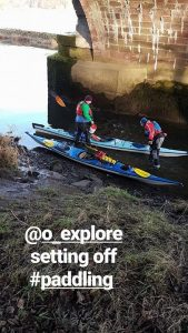 Outdoor Explore does kayak tours and canoe tours in Central Scotland